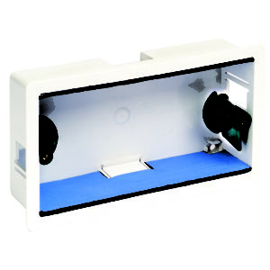 Dry Lining Boxes with Fire Barrier Pads