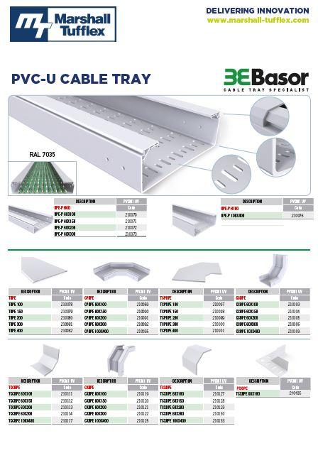 PVC-U Tray MT Basor